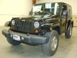 2012 Black Jeep Wrangler Rubicon 4X4 #57610814
