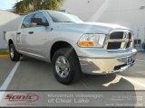 2009 Bright Silver Metallic Dodge Ram 1500 SLT Crew Cab 4x4 #57610799