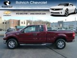2006 Dark Toreador Red Metallic Ford F150 XLT SuperCab 4x4 #57696496
