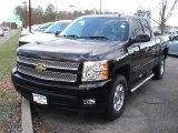 2012 Black Chevrolet Silverado 1500 LTZ Extended Cab #57695420