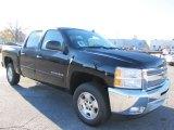 2012 Black Chevrolet Silverado 1500 LT Crew Cab #57695927
