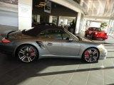 2012 Meteor Grey Metallic Porsche 911 Turbo Cabriolet #57695902