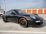 2012 Basalt Black Metallic Porsche 911 Carrera S Coupe #57695900