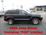 2006 Black Jeep Grand Cherokee Limited 4x4 #57696396