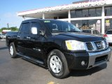 2007 Galaxy Black Nissan Titan LE Crew Cab #57696367