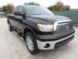 2012 Black Toyota Tundra Texas Edition Double Cab 4x4 #57695849