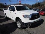 2010 Super White Toyota Tundra SR5 Double Cab 4x4 #57696263