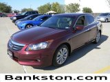 2011 Basque Red Pearl Honda Accord EX-L V6 Sedan #57695098