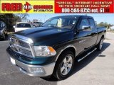 2011 Hunter Green Pearl Dodge Ram 1500 Big Horn Quad Cab #57696216