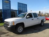 2012 Summit White Chevrolet Silverado 1500 Work Truck Crew Cab 4x4 #57695703