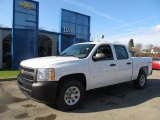 2012 Summit White Chevrolet Silverado 1500 Work Truck Crew Cab 4x4 #57695702