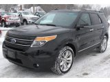 2011 Tuxedo Black Metallic Ford Explorer Limited 4WD #57696199