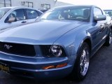 2006 Windveil Blue Metallic Ford Mustang V6 Premium Coupe #57695671