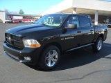 2012 Black Dodge Ram 1500 Express Crew Cab 4x4 #57696165