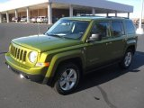 2012 Rescue Green Metallic Jeep Patriot Latitude 4x4 #57696160