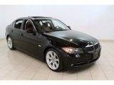2007 Jet Black BMW 3 Series 335xi Sedan #57696142