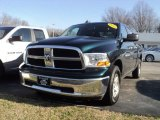 2011 Hunter Green Pearl Dodge Ram 1500 SLT Quad Cab 4x4 #57696138