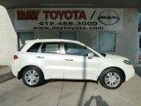 2010 White Diamond Pearl Acura RDX Technology #57695616