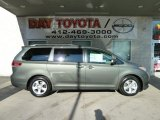 2012 Cypress Green Pearl Toyota Sienna LE #57695614