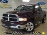 2005 Deep Molten Red Pearl Dodge Ram 1500 SLT Quad Cab #57695605