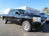 2010 Black Chevrolet Silverado 1500 LT Crew Cab #57696099