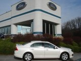 2010 White Platinum Tri-coat Metallic Ford Fusion SE V6 #57695590