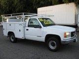 1997 GMC Sierra 3500 SL Regular Cab Utility Truck