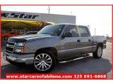 2007 Graystone Metallic Chevrolet Silverado 1500 Classic LS Crew Cab #57696051