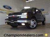2004 Black Chevrolet Silverado 1500 LT Crew Cab #57788108