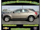 2010 Mocha Steel Metallic Chevrolet Equinox LS #57788380