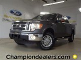2011 Sterling Grey Metallic Ford F150 Lariat SuperCrew 4x4 #57788046