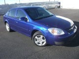 2007 Laser Blue Metallic Chevrolet Cobalt LT Sedan #57788041