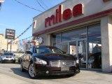 2010 Crimson Black Nissan Maxima 3.5 SV #57788297