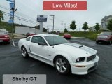 2007 Performance White Ford Mustang Shelby GT Coupe #57788173