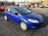 2012 Sonic Blue Metallic Ford Focus SE 5-Door #57788161