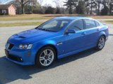 2009 Stryker Blue Metallic Pontiac G8 Sedan #57788286