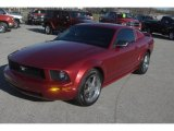 2006 Redfire Metallic Ford Mustang V6 Deluxe Coupe #57788270