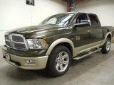 2012 Sagebrush Pearl Dodge Ram 1500 Laramie Longhorn Crew Cab 4x4 #57816975