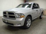 2012 Bright Silver Metallic Dodge Ram 1500 Express Crew Cab 4x4 #57816974