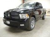 2012 Black Dodge Ram 1500 Sport Crew Cab 4x4 #57816972