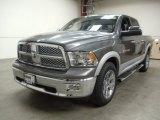 2012 Mineral Gray Metallic Dodge Ram 1500 Laramie Crew Cab 4x4 #57816971
