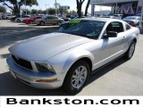 2005 Satin Silver Metallic Ford Mustang V6 Deluxe Coupe #57816879
