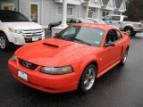 2004 Ford Mustang Competition Orange