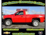 2012 Victory Red Chevrolet Silverado 1500 Work Truck Regular Cab 4x4 #57823566