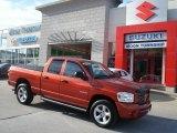 2008 Sunburst Orange Pearl Dodge Ram 1500 Sport Quad Cab 4x4 #57823110