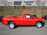 2012 Victory Red Chevrolet Silverado 1500 Work Truck Regular Cab #57823101