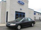 2002 Nighthawk Black Pearl Honda Accord EX V6 Sedan #5772907
