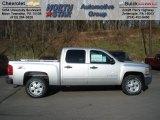 2012 Silver Ice Metallic Chevrolet Silverado 1500 LT Crew Cab 4x4 #57823092