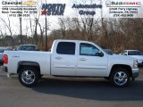 2012 White Diamond Tricoat Chevrolet Silverado 1500 LT Crew Cab 4x4 #57823091