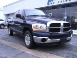 2006 Patriot Blue Pearl Dodge Ram 1500 SLT Quad Cab #57823314